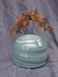 Pot with fish lid